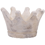 Krone Valo, creme/white, Cement, 10,5x10,5x7,5 cm