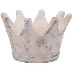 Krone Valo, creme/white, Cement, 17x17x10,5 cm
