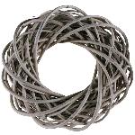 Kranz Willow, grey, 20x20x6 cm