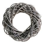 Kranz Willow, grey, 10x10x2,5 cm