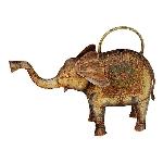 GießKanne Elefant Kanu, Metall, 10x43x31 cm
