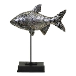 Fisch Hilda, Polyresin, 22x7x26,5 cm