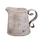 Kanne Valo, creme/white, Keramik, 18,5x14x15,5 cm
