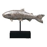 Fisch Hilda, Polyresin, 24x5x16,5 cm