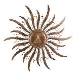 WandHänger Sonne ArtFerro, Metall, 48x48 cm