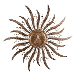 WandHänger Sonne ArtFerro, Metall, 98x98 cm