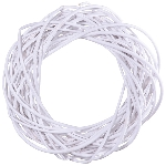 WhiteKranz Willow, Rattan, 25x25x8 cm
