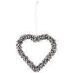 HerzHänger Iride, silber, Metall, 15x15x2 cm