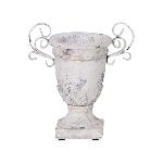 Pokal Valo, creme/white, Keramik, 18x13x22 cm