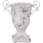 Pokal Valo, creme/white, Keramik, 28x19x32 cm