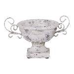 Schale Valo, creme/white, Keramik, 23x17x15 cm