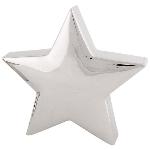 Stern ArgenT, silber, Keramik, 42x7x40 cm