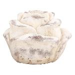 Rose Valo, creme/white, Keramik, 15,5x15,5x12 cm