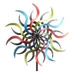 WindRad ArtFerro, Metall, 35,5x16,5x184 cm