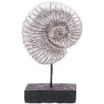 Ammonit Hilda, Polyresin, 17x7x28,5 cm