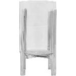 WindLicht SuArt, Edelstahl/Glas, 14,5x14,5x43,5 cm