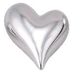 Herz ArgenT, silber, Keramik, 4,5x4,2x2,3 cm