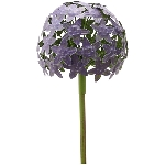 AlliumStick ArtFerro, purple, Metall, 16,2x16,2x111,2 cm
