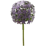 AlliumStick ArtFerro, purple, Metall, 20x20x116,2 cm
