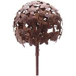 AlliumStick ArtFerro, rusty, Metall, 20x20x116,2 cm