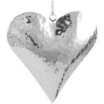 HerzHänger SuArt, Edelstahl, 14x15x4,5 cm