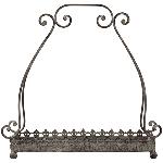 Tablett ArtFerro, Metall, 36x21x36 cm