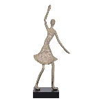 FrauenSkulptur Berl, Aluminium, 13x10x41 cm
