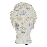 FrauenBüste Valo, Keramik, creme/white, 9,9x9,5x15 cm