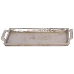 Tablett GROS, Aluminium, 29x12x3 cm