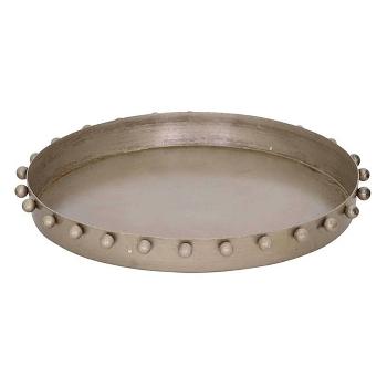 Tablett Iride, Metall, 16x16x1,5 cm