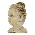 FrauenBüste Valo, Keramik, 11,5x9,5x16,5 cm