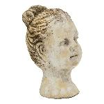 FrauenBüste Valo, Zement, 13,5x12x21 cm