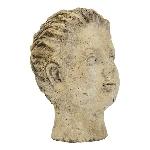 FrauenBüste Valo, Zement, 15x12,5x19 cm