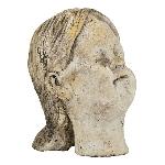 FrauenBüste Valo, Zement, 15x12,5x18,5 cm