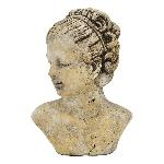 FrauenBüste Valo, Keramik, 16x11x22,5cm