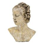 FrauenBüste Valo, Keramik, 21x13x28,5cm