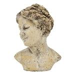 FrauenBüste Valo, Keramik,16x11x22,5 cm