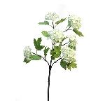 Viburnum Roseum x6 ArtificialNature, cream, 60 cm