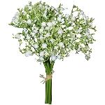 Gypsophila Viette bush ArtificialNature, cream,  28 cm