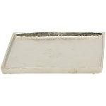 Tablett GROS, Aluminium, 20x20x2 cm