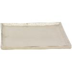 Tablett GROS, Aluminium, 30x30x2 cm