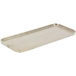 Tablett GROS, Aluminium, 45x19,5x2 cm