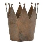 Krone ArtFrerro, rusty, Metall, 20x20x23 cm