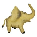 Elefant Kanu, Metall, 19x11x16 cm