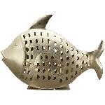 Fisch Iride, Metall, 36x11x24,5 cm