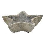 Stern Valo, grau, Terracotta, 24x23x7 cm