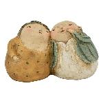 Paar Hilda, Polyresin, 11,5x12,1x13 cm