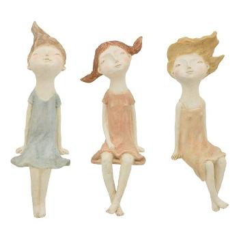 Ladys Hilda, Polyresin, 13x14x42,5 cm