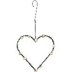 HerzHänger GlinT, Metall, 18x16x1 cm
