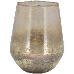Topf VIN, pink, Glas, 20x20x25 cm